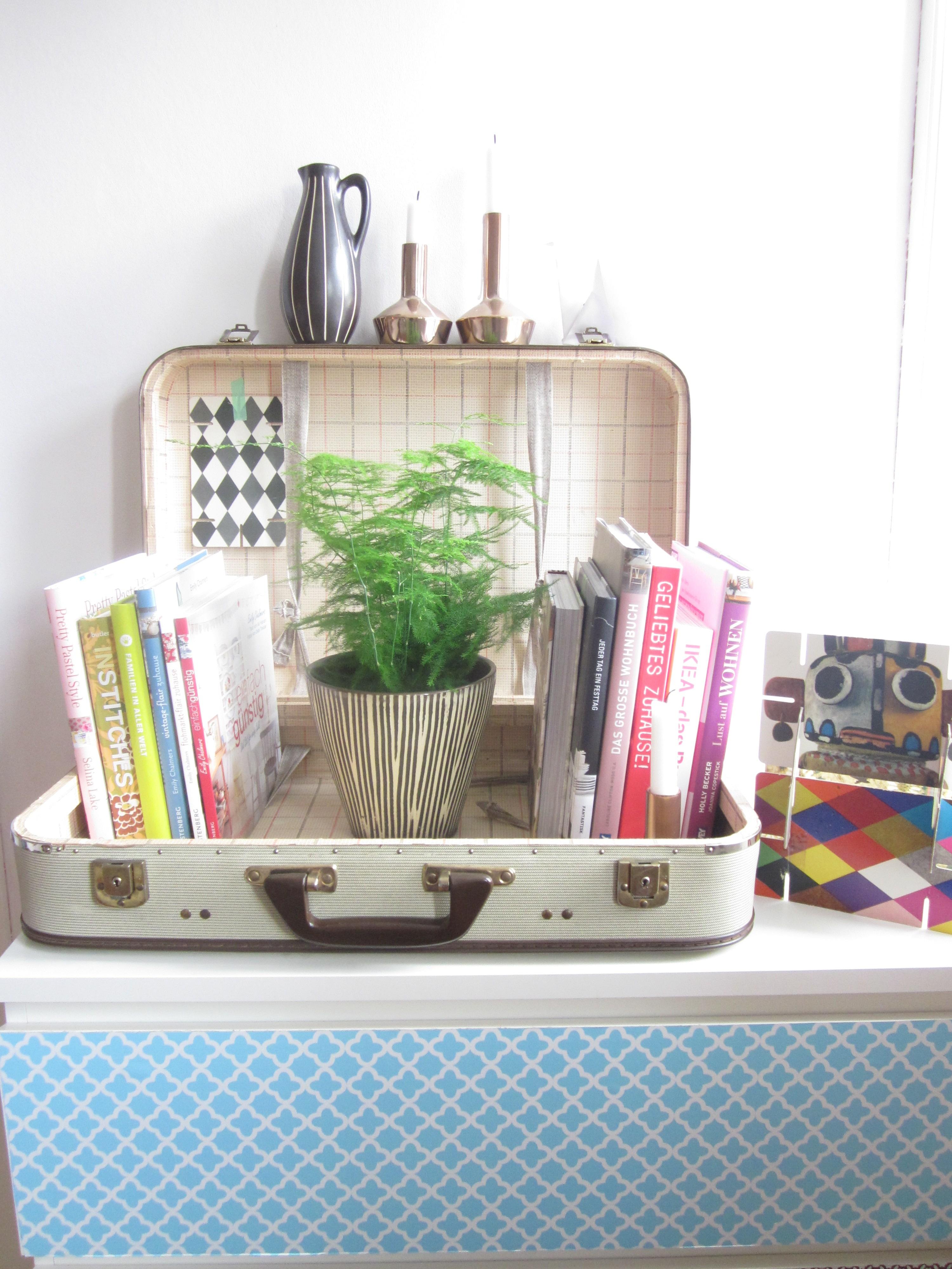 was tun mit alten koffern my home is my horst. Black Bedroom Furniture Sets. Home Design Ideas