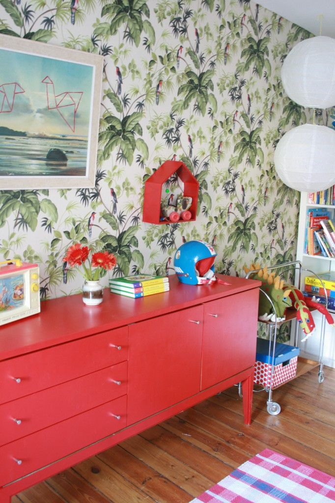 Welcome to the retro dschungel neues im kinderzimmer my home is my horst - Kinderzimmer retro ...