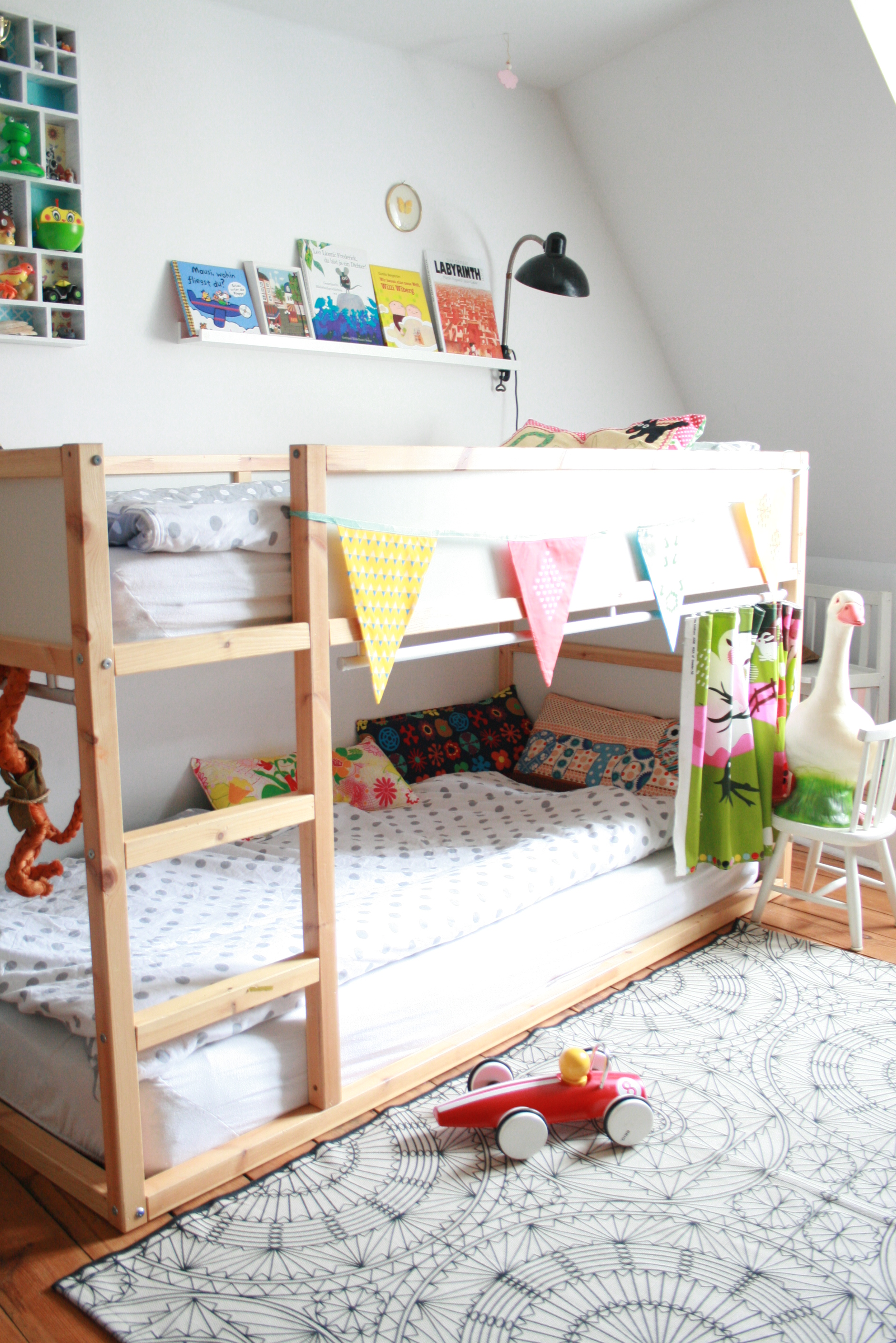 einblick ins kinderzimmer my home is my horst. Black Bedroom Furniture Sets. Home Design Ideas