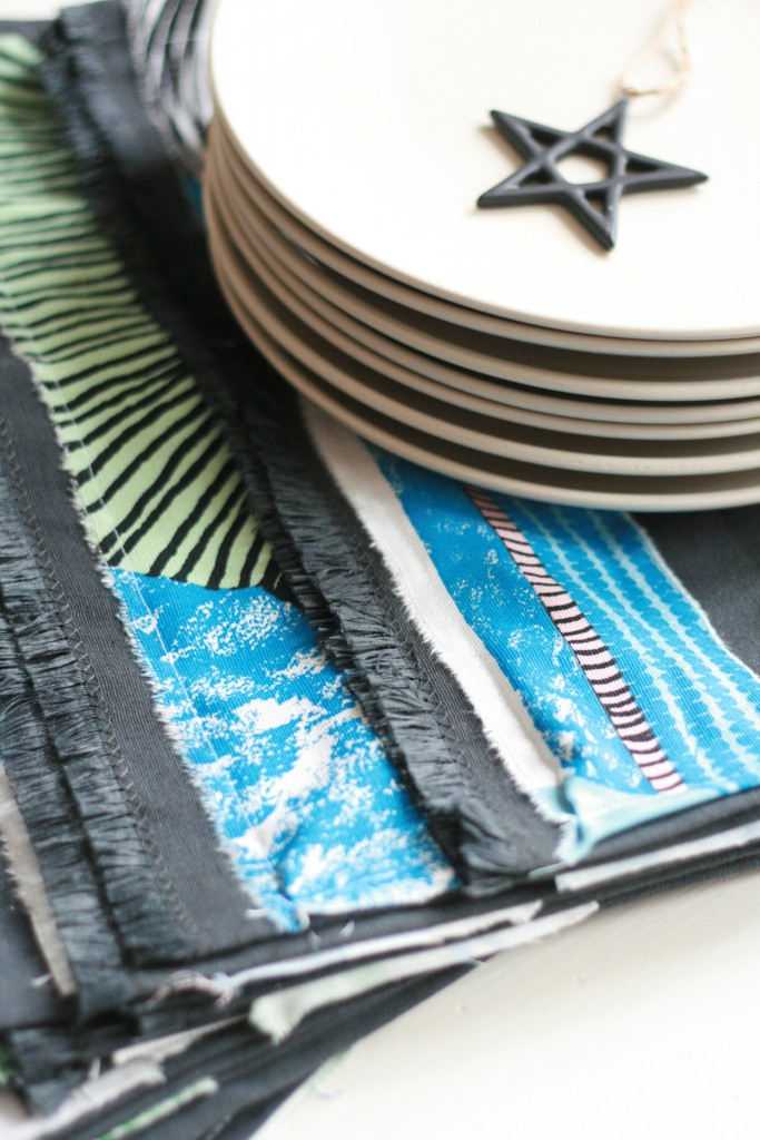 diy tischsets oder schnelle geschenkidee my home is my horst. Black Bedroom Furniture Sets. Home Design Ideas