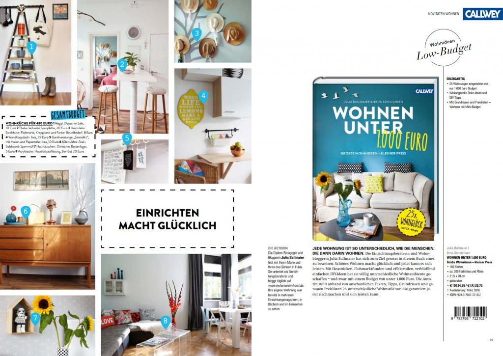 Mein Buch – Give away | My home is my horst