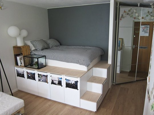 ikea malm bett quietscht was tun. Black Bedroom Furniture Sets. Home Design Ideas