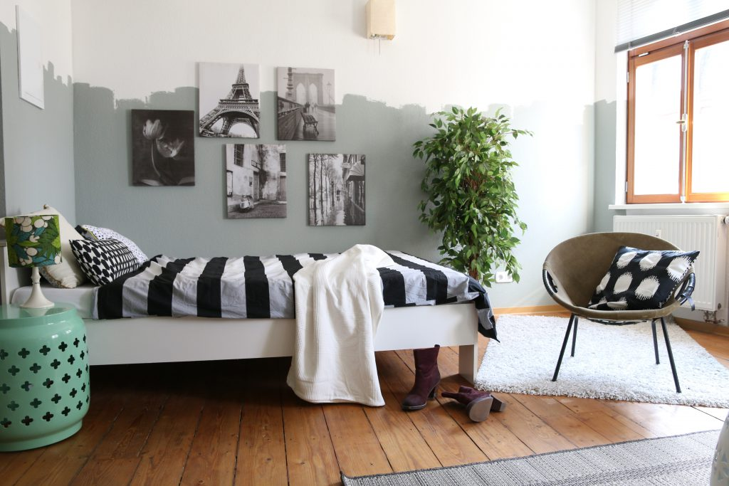 die tollste wandfarbe der welt my home is my horst. Black Bedroom Furniture Sets. Home Design Ideas