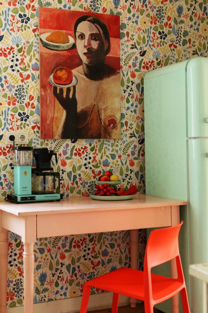 Die Nackte in der Küche | My home is my horst